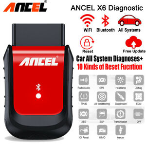 WIFI Bluetooth Full System OBD2 Auto Scanner Diagnostic Tool ABS Airbag EPB TPMS