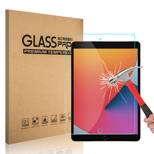 For iPad 2020 10.2 inch8th Generation7th Gen Tempered Glass Screen Protector