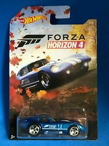 2019 HOT WHEELS FORZA HORIZON 4 SHELBY COBRA DAYTONA 4/6