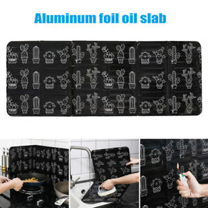 Folding Kitchen Cooking Oil Splash Screen Cover Anti Splatter Stove Shield Guard $8.99