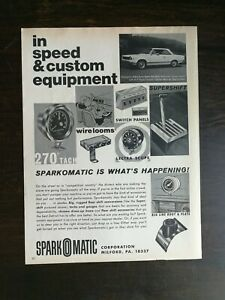 Vintage 1967 Spark O Matic in Speed amp; Custom Equipment Full Page Original Ad