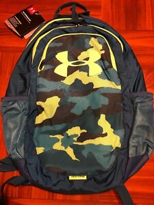 NEW Under Armour Scrimmage Storm Backpack Teal Rush Camo Water Repl New $43.88
