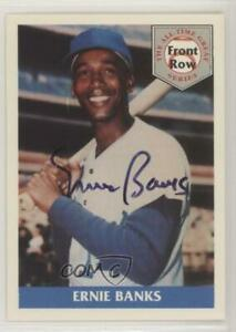 1992 Front Row The All Time Great Series Ernie Banks Autograph #1.2 HOF