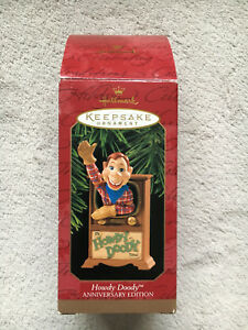 HOWDY DOODY HALLMARK Ornament 1997 50th Anniversary Edition, New In Box!