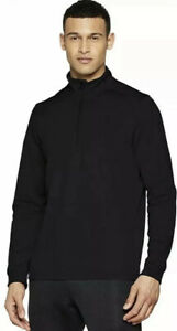 NEW Under Armour ColdGear ARMOUR FLEECE 12 Zip - Black - Long Sleeve $55