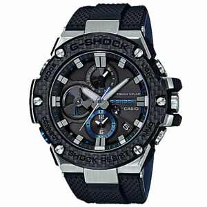 Casio G-Shock Men's Analog G-STEEL GSTB100XA-1A Digital Steel Watch Black Timepi