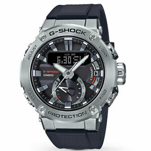 Casio G-Shock Men's G-Steel GSTB200-1A Analog-Digital Watch Silver Timepiece