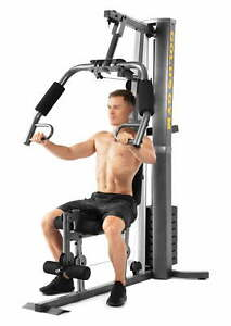 Home Gym Machine Workout Muscle Pulley Cable Weight System Resistance Exercise