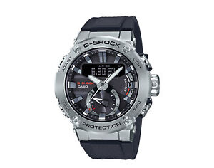 Casio G-Shock GSTB200 G-STEEL AD Metal Resin SilverBlk Men's Watch GSTB200-1A
