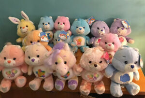 Rare Carlton Cards Care Bear Plush 13 Dolls