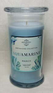 Fragrant Jewels March Birthstone Candle Size 8 Aquamarine Inspired Ring