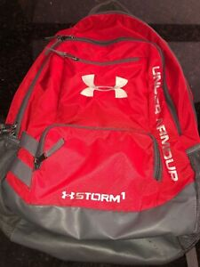 Under Armour Storm 1 Red Backpack