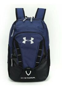 NWT Under Armour Storm 3.0 Blue and Black Backpack Book Bag