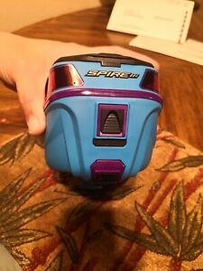 Virtue Spire iii 3 Cyan Ice blue With Crown Speed paintball hopper loader