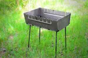 Portable Grill Barbeque Mangal BBQ Kabab Outdoor Stove 6 8 10 12 Skewer Brazier