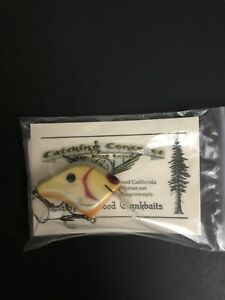 CATCHING CONCEPTS FPC.5 DIRTY PEARL CUSTOM WOOD CRANKBAIT