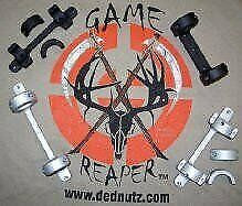 DNZ Game Reaper Savage-All Round Receiver-Short Action-Low Mount - Silver - 1