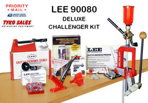 LEE 90080 * LEE DELUXE BREECH LOCK CHALLENGER SINGLE STAGE PRESS KIT * 90080