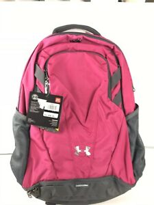 Under Armour Team Hustle 3.0 Backpack Bag Tropic Pink Graphite 30L . New w Tag