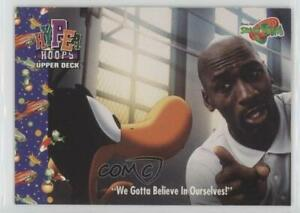 1996 Upper Deck Space Jam Michael Jordan We Gotta Believe In Ourselves #100 HOF