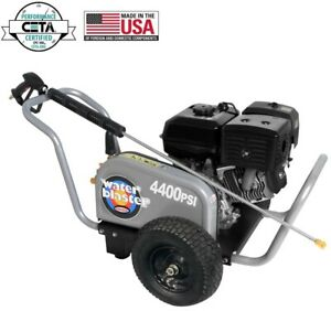 Simpson 4400 psi at 4.0 GPM 420 with AAA Triplex Pump Gas Pressure Washer