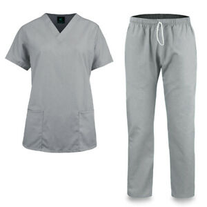 KM51M Kolossus Women#x27;s Comfort Fit Medical Scrub Set