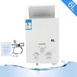 12KW Tankless Hot Water Heater Propane Gas LPG 6L for Outdoor RV's
