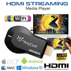 Anycast WiFi Dongle TV 1080p Airplay Display DLNA HDMI Receiver Miracast M9 USA
