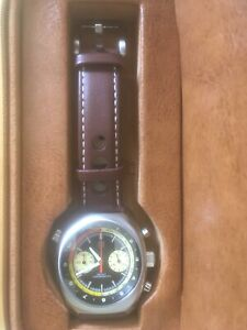 Straton Curve Chrono Watch 39.5mm Meca-quartz No Date