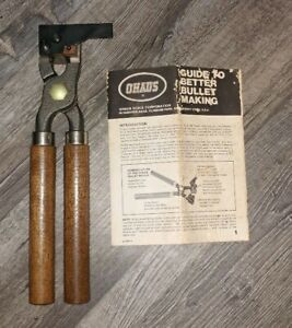 Vintage OHAUS 303 Bullet Mold 440-R Single Cavity with Handles