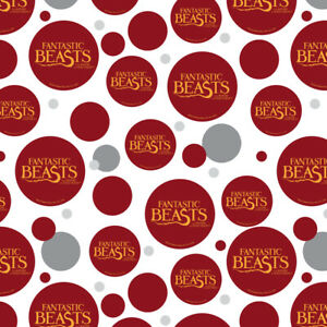Fantastic Beasts Logo Premium Gift Wrap Wrapping Paper Roll