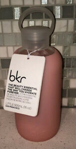 NWT BKR Glass Water Bottle Gloss 16oz NEW WITH TAGS Pink