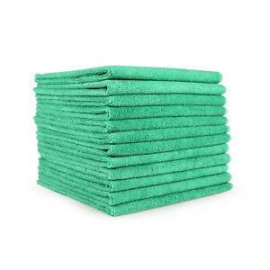 Home Cleaning Cloth 12 Pack Microfiber 12 x 12 Reusable Towel Color Options