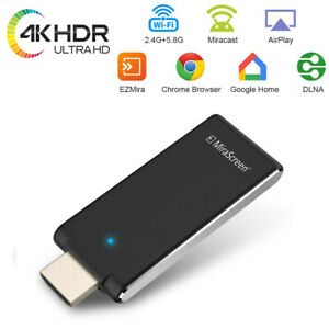 4K Mirascreen TV Stick Video Mirroring 5G Wireless HDMI Receiver Airplay Dongle
