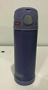 NEW Thermos FUNtainer Purple Water Bottle - 16 OZ
