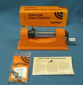 Lyman Universal Trimmer with 9 Pilot Multi-Pack New in Box