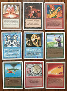 3rd Edition Revised Complete Set [No Dual Lands] - LP - Magic the Gathering