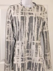 Under Armour Women's UA ColdGear Printed Fitted Long Sleeve Shirt Size Medium