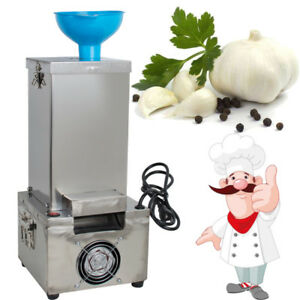 180W 20kg/h Garlic Peeler Machine Commercial Electric Stainless Steel+Silicone