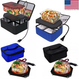 Personal Portable mini electric microwave oven Lunch box12V Food Warmers for Car