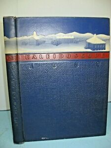 1937 Kaleidoscope, Middlebury College, Middlebury, Vermont Yearbook