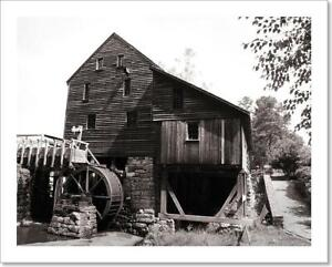 Yates Grist Mill Art Print Home Decor Wall Art Poster