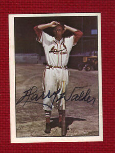 HARRY THE HAT WALKER Autograph Auto Signed Star of 1946 World Series SHARP