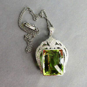 Magnificent Art Deco Pendant with Lemontopas