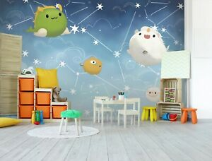 3D Cartoon Animal T276 Business Wallpaper Wall Mural Self adhesive Commerce An