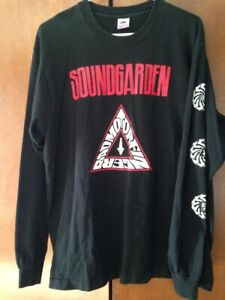 Vintage 1991 Soundgarden Promo Long Sleeve XL Shirt Badmotorfinger