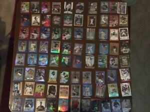 Rare Sports Card Numbered Lot of 81 Baseball Football Nascar