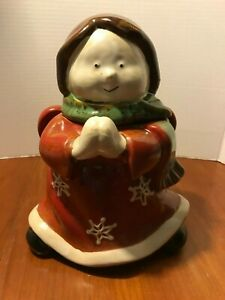 TARGET HOLIDAY 2010 ~ STONEWARE ANGEL COOKIE JAR ~