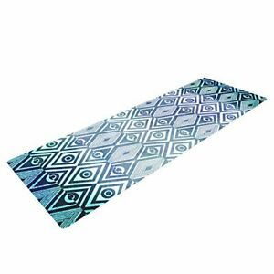 Kess InHouse Pom Graphic Design Yoga Exercise Mat Tribal Empire 72 x 24 Inch