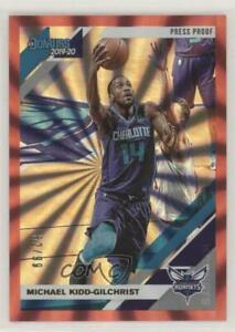 2019 20 Panini Donruss Press Proof Red Laser 99 Michael Kidd Gilchrist #28
